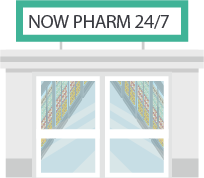 24/7 pharmacy store front